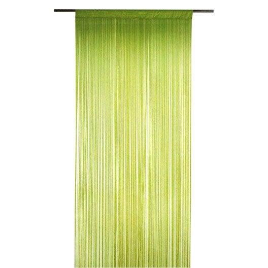 rideau spaghetti vert x cm inspire leroy merlin. Black Bedroom Furniture Sets. Home Design Ideas