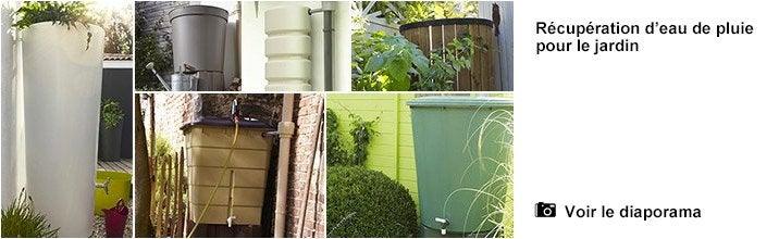 R cup rateur d 39 eau de pluie ext rieur a rien cylindrique - Robinet pour recuperateur d eau de pluie ...