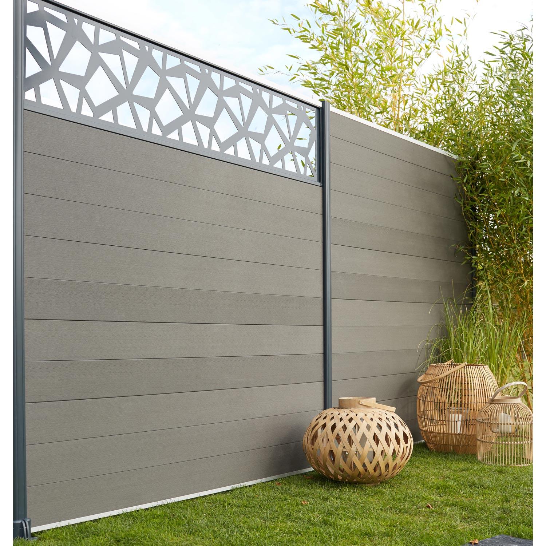 Awesome barriere de jardin grise ideas antoniogarcia for Jardin gris new orleans