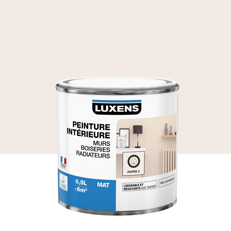Peinture mur, boiserie, radiateur toutes pièces Multisupports LUXENS, paper 3, m