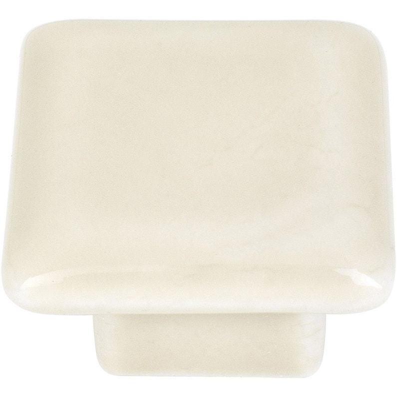 Bouton De Meuble Beige Porcelaine H26 X L40 X P26 Mm