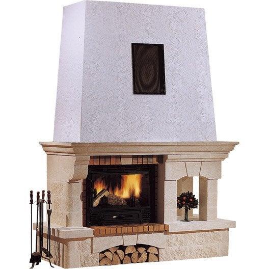 habillage de chemin e en pierre avignon linteau pierre. Black Bedroom Furniture Sets. Home Design Ideas