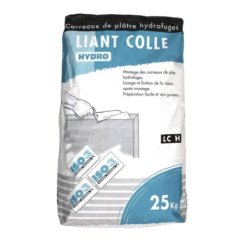 Colle Pour Carreaux De Plâtre Hydro Iso3 25 Kg