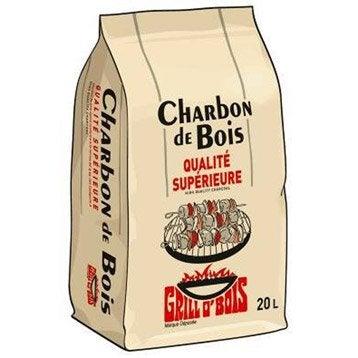 Charbon de bois solide GRILLO'BOIS