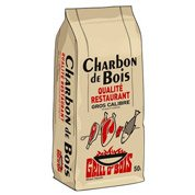 Charbon de bois solide GRILLO'BOIS, 50 L