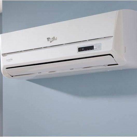 climatiseur fixe chauffage et climatisation fixe leroy merlin. Black Bedroom Furniture Sets. Home Design Ideas