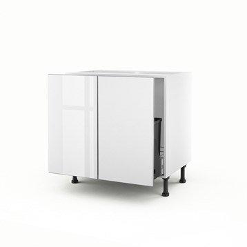 meuble de cuisine blanc delinia everest leroy merlin. Black Bedroom Furniture Sets. Home Design Ideas