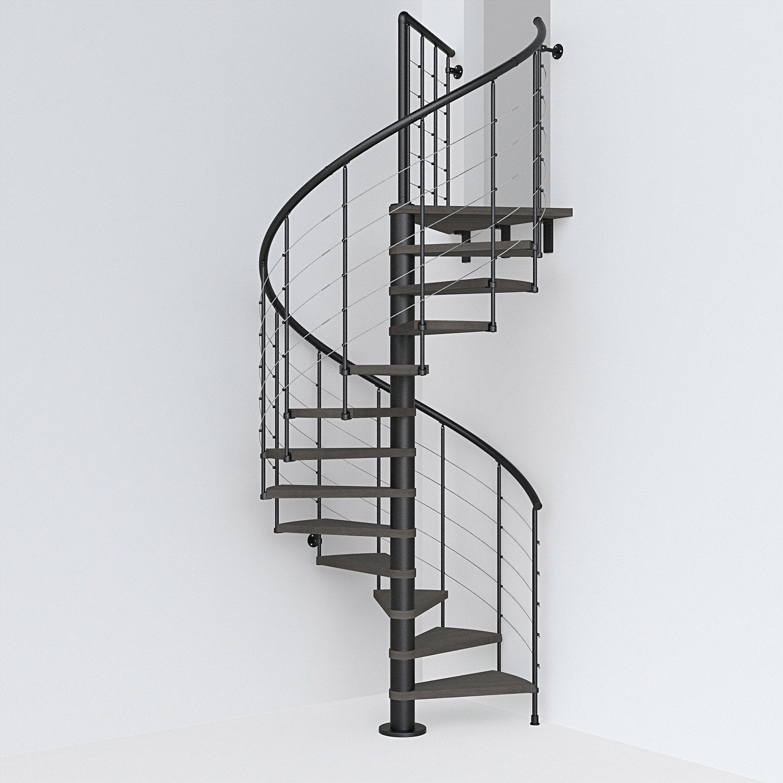 escalier colima on rond ringtube structure acier marche. Black Bedroom Furniture Sets. Home Design Ideas