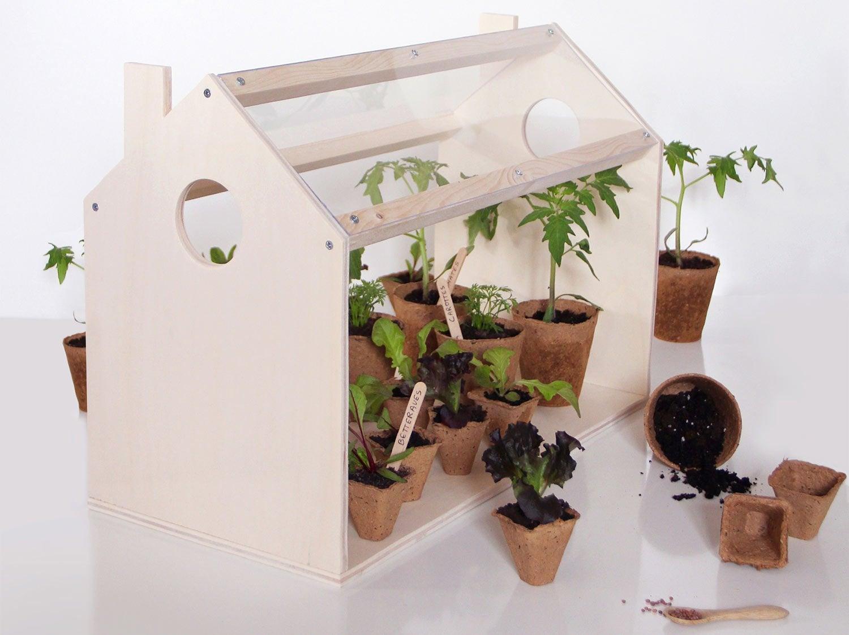 diy fabriquer une mini serre leroy merlin. Black Bedroom Furniture Sets. Home Design Ideas