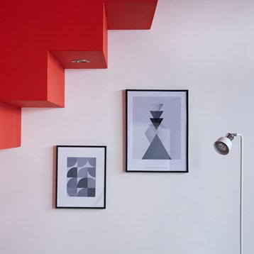 Cadre Lila, 40 x 50 cm, noir