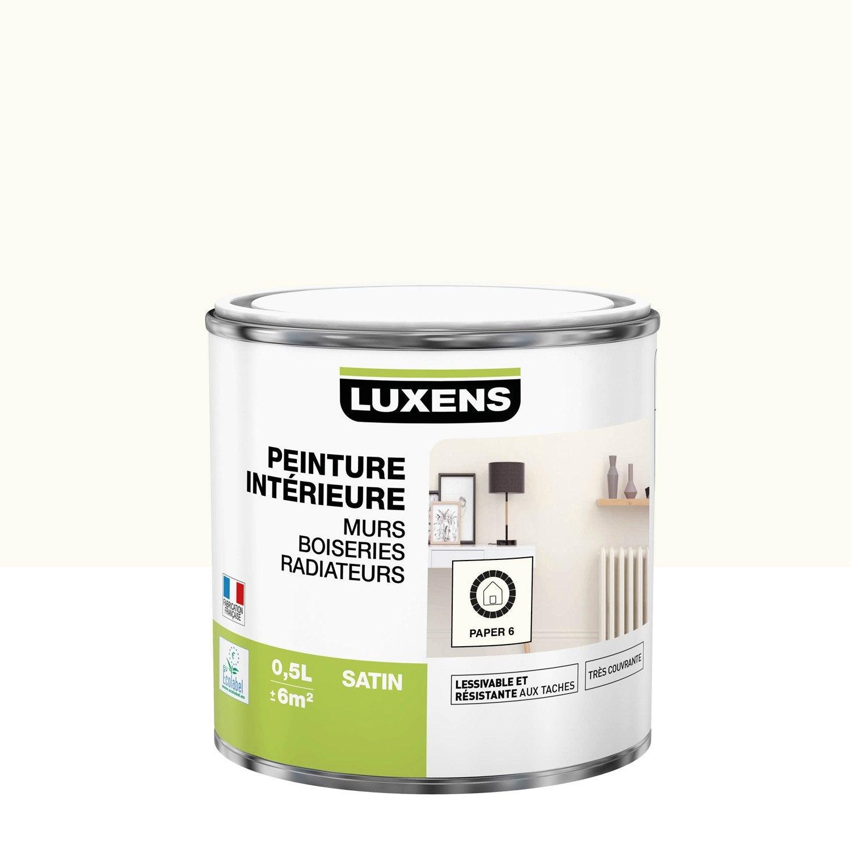Peinture mur, boiserie, radiateur toutes pièces Multisupports LUXENS, paper 6, s