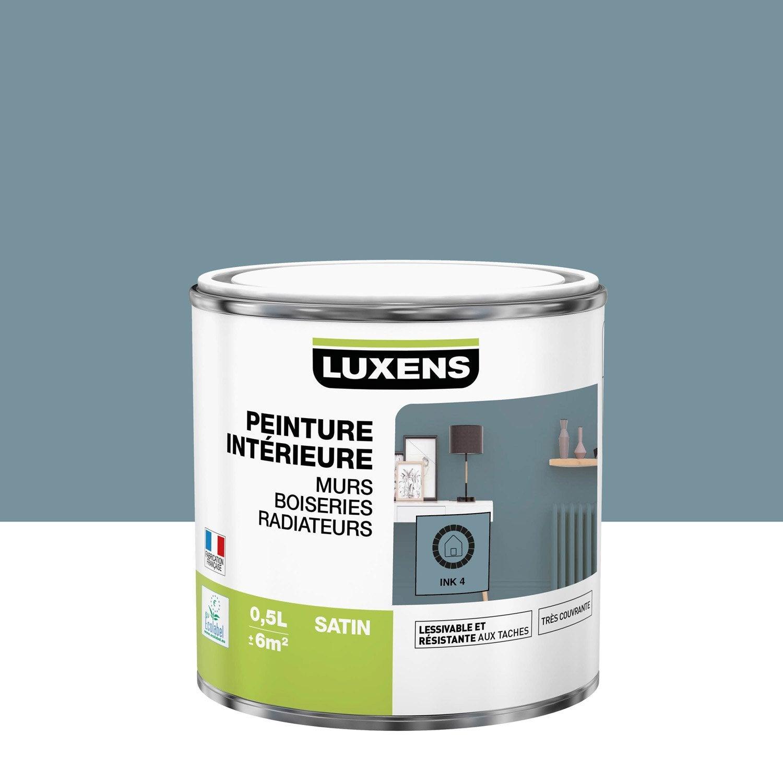Peinture mur, boiserie, radiateur intérieur Multisupports LUXENS, ink 4, satin,