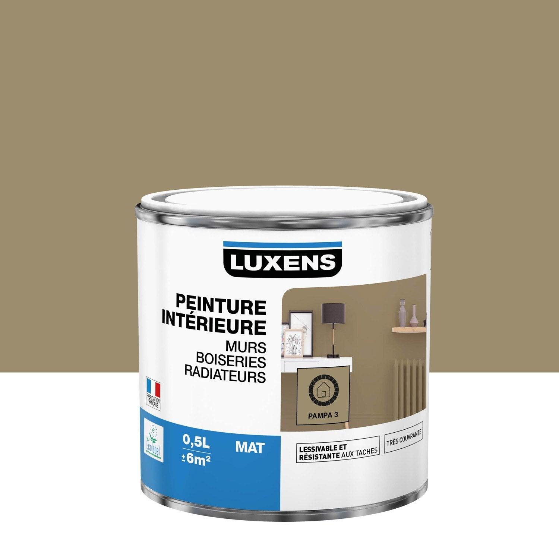 Peinture mur, boiserie, radiateur toutes pièces Multisupports LUXENS, pampa 3, m