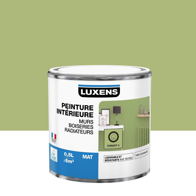 Peinture mur, boiserie, radiateur Multisupports LUXENS, forest 4, 0.5 l, mat