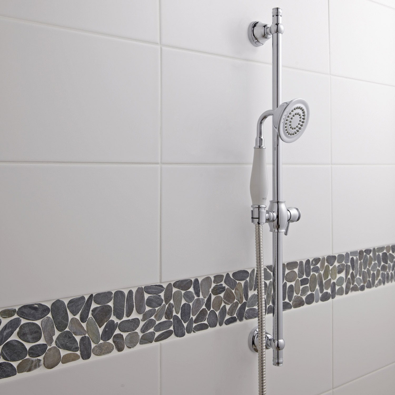 Faience Mur Blanc Blanc N 0 Loft L 20 X L 50 2 Cm Leroy Merlin