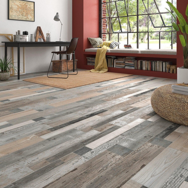 Carrelage Facon Parquet Leroy Merlin réchauffez-vous avec le carrelage aspect bois | leroy merlin