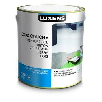 sous couche avant peinture sol ext rieur int rieur luxens blanc 2 5l. Black Bedroom Furniture Sets. Home Design Ideas