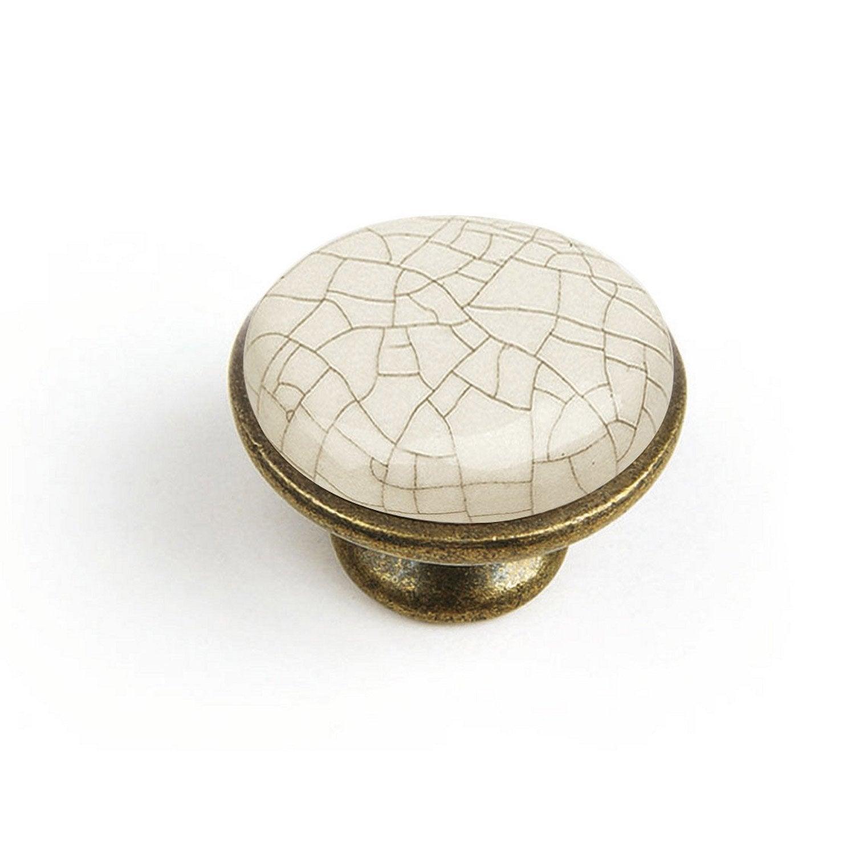 Bouton De Meuble Porcelaine Brillant Leroy Merlin