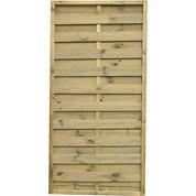 Panneau bois occultant Prestige, l.90 cm x h.180 cm, naturel