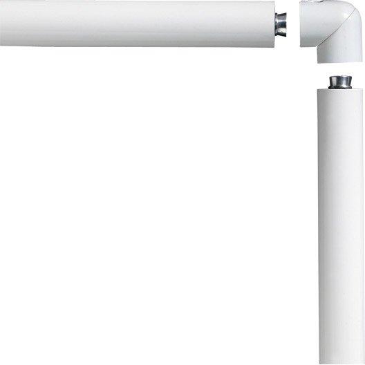 Main courante aluminium blanc obapi 2 m leroy merlin for Main courante escalier exterieur aluminium