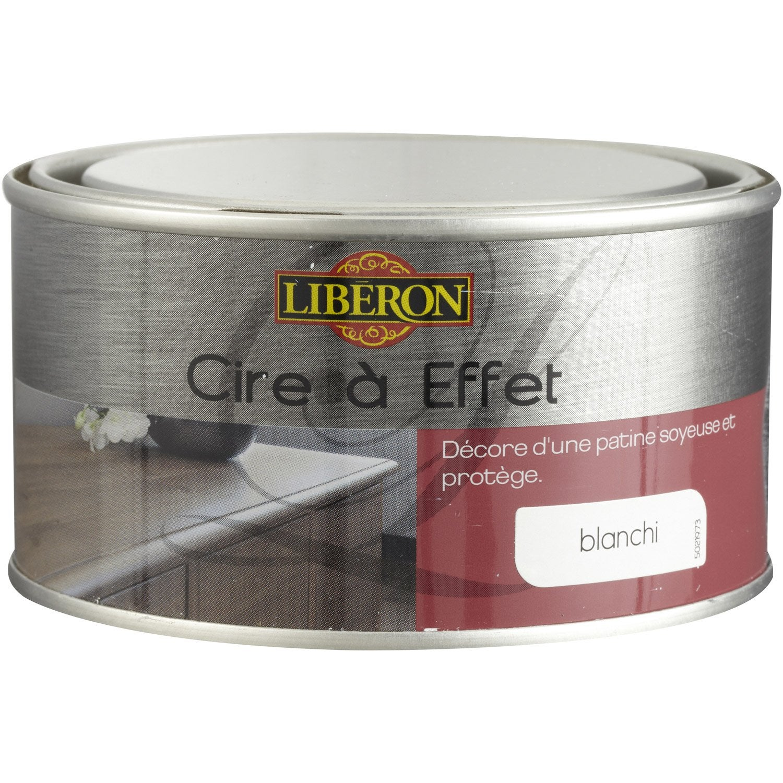 Peinture liberon meuble etagres peinture effet chaul with - Cire pour meuble peint ...