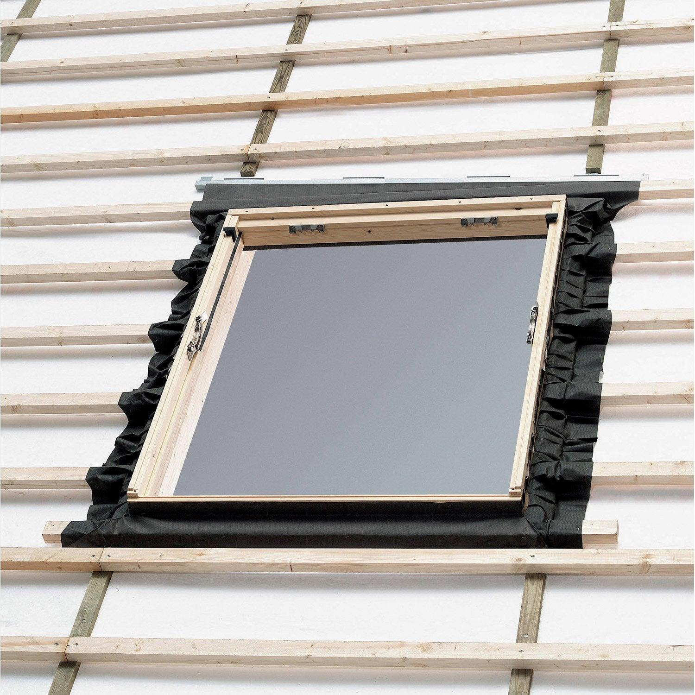 Collerette d 39 tancheit standard pour fen tre de toit - Tringle pour fenetre de toit ...