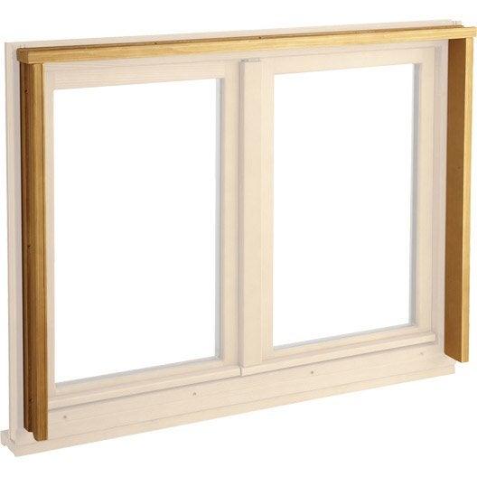 tap e pour fen tre et porte fen tre en bois longueur pour doublage 160 leroy merlin. Black Bedroom Furniture Sets. Home Design Ideas