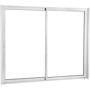 Baie vitr e baie coulissante baie vitr e sur mesure for Porte fenetre aluminium coulissante