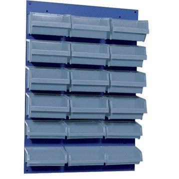 Lot de 18 boîtes à bec avec casier KUPPER