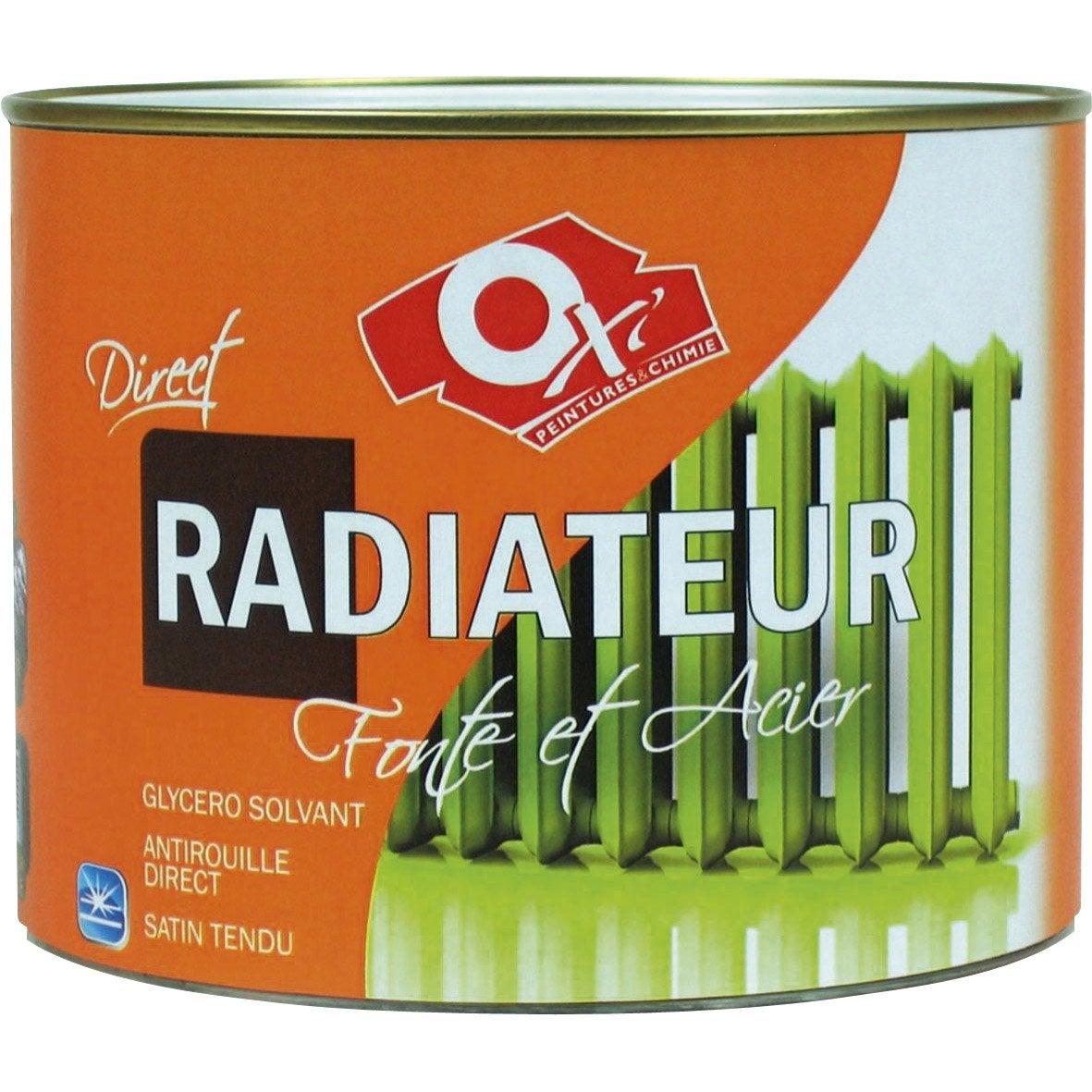 Beautiful Good Peinture Oxu Oxytol Blanc L With Peindre Radiateur Fonte  Pistolet With Peinture Radiateur Fonte