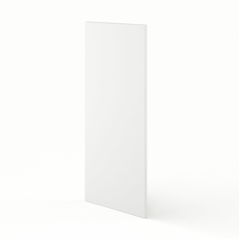 joue meuble haut de cuisine blanc d lice x cm On meuble haut cuisine 92 cm
