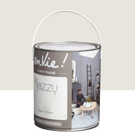 Peinture blanc d'hiver LUXENS Envie collection jazzy 0.5 l