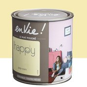 Peinture jaune pop corn LUXENS Envie collection happy 0.5 l