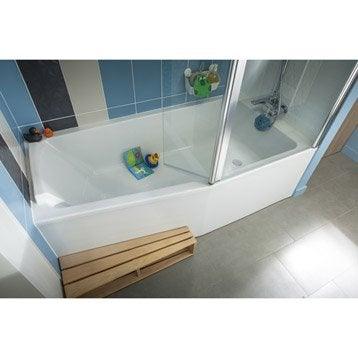 baignoire baignoire leroy merlin. Black Bedroom Furniture Sets. Home Design Ideas