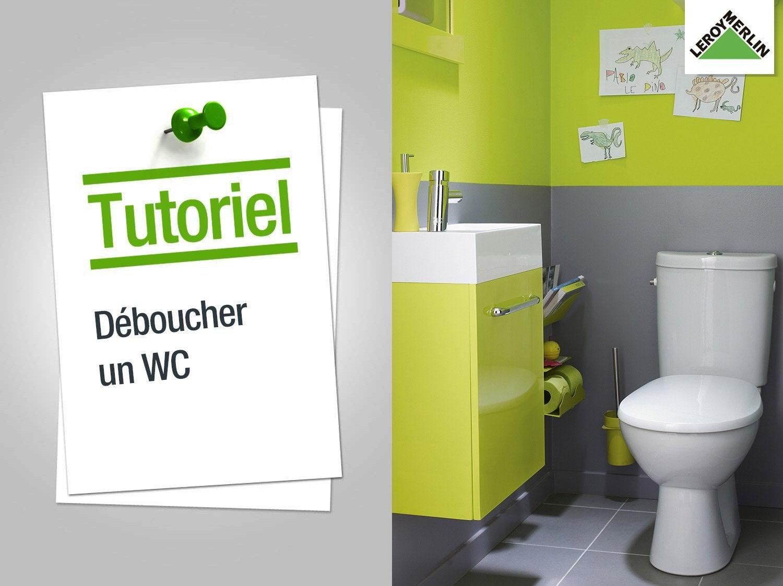 Comment déboucher un WC ?