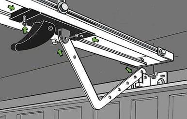 Comment motoriser une porte de garage basculante leroy merlin - Montage porte de garage basculante ...
