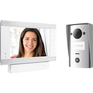 Interphone et visiophone sonnette sans fil au meilleur prix leroy merlin - Interphone leroy merlin ...