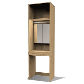 caissons et tiroirs de rangement spaceo home leroy merlin. Black Bedroom Furniture Sets. Home Design Ideas