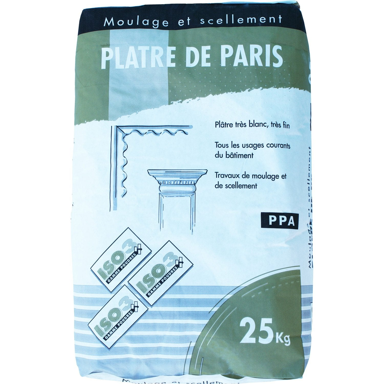 Plâtre Iso3 25 Kg