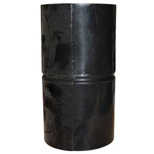 Manchon tpc noir, Diam.40 mm, L.0.085 m