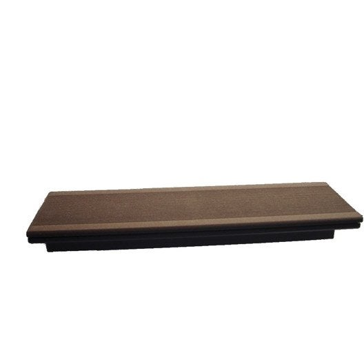 margelle composite brun fonc terrasse premiuml 2 4 x l 0. Black Bedroom Furniture Sets. Home Design Ideas