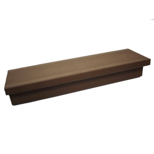 margelle composite havane brun clair terrasse premiuml 2 4. Black Bedroom Furniture Sets. Home Design Ideas