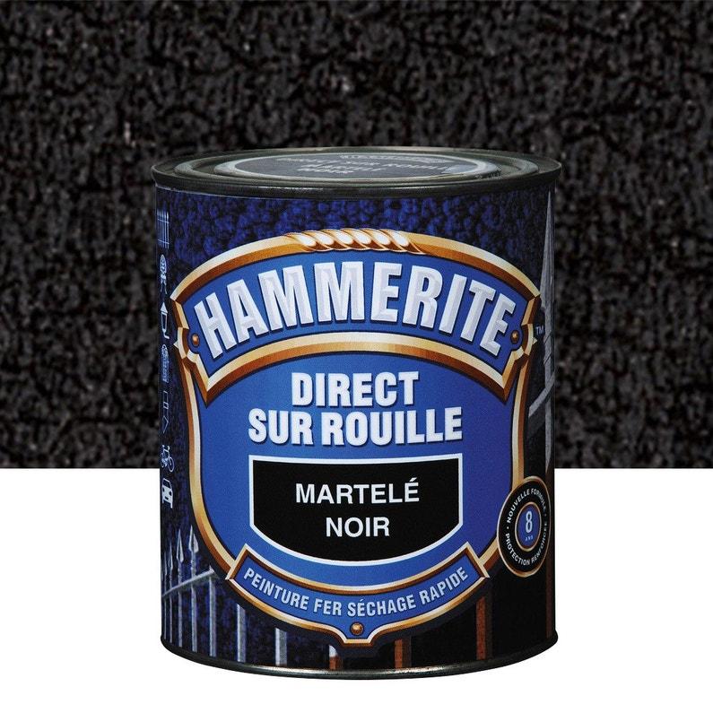 Peinture Fer Extérieur Noir 25 L Hammerite Leroy Merlin
