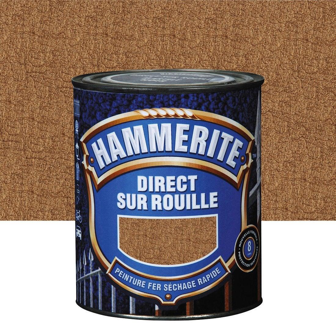 Peinture Fer Ext Rieur Hammerite Cuivre 0 75 L Leroy Merlin