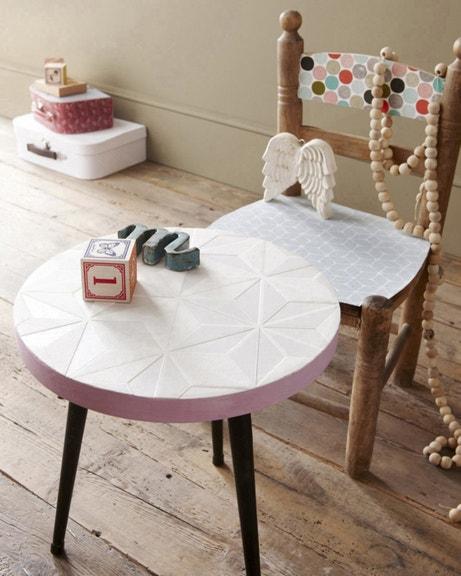 Customisez vos meubles avec des papiers peints à motifs