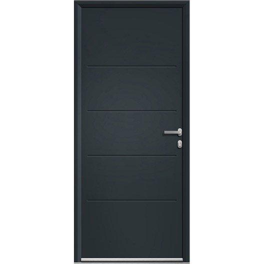 Exceptional poignee de porte exterieure leroy merlin 13 - Porte aluminium leroy merlin ...