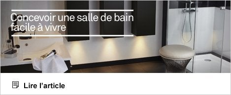 accessibilit et s curit de la salle de bains salle de bains leroy merlin. Black Bedroom Furniture Sets. Home Design Ideas
