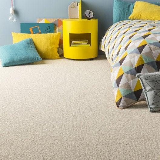 moquette boucl e montana artens blanche 4 m leroy merlin. Black Bedroom Furniture Sets. Home Design Ideas