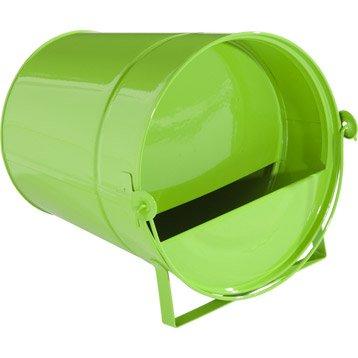 Seau abreuvoir vert, 4 l