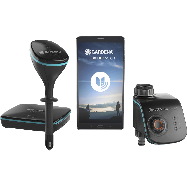 programmateur connect piles gardena smart sensor control multivoie leroy merlin. Black Bedroom Furniture Sets. Home Design Ideas
